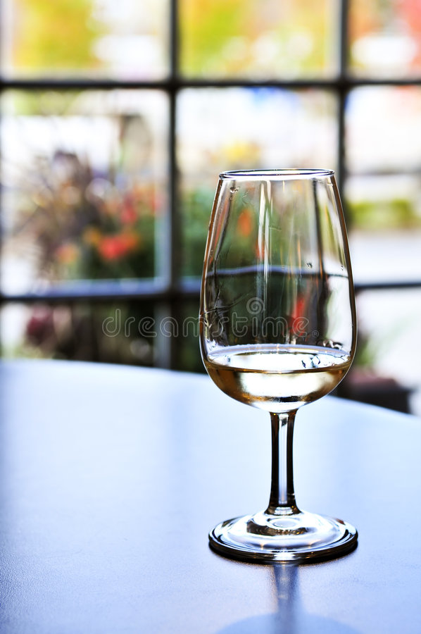 Wine tasting glass royalty free stock photo
