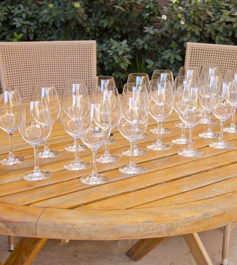 Wine Tasting Series 5 Stock Images