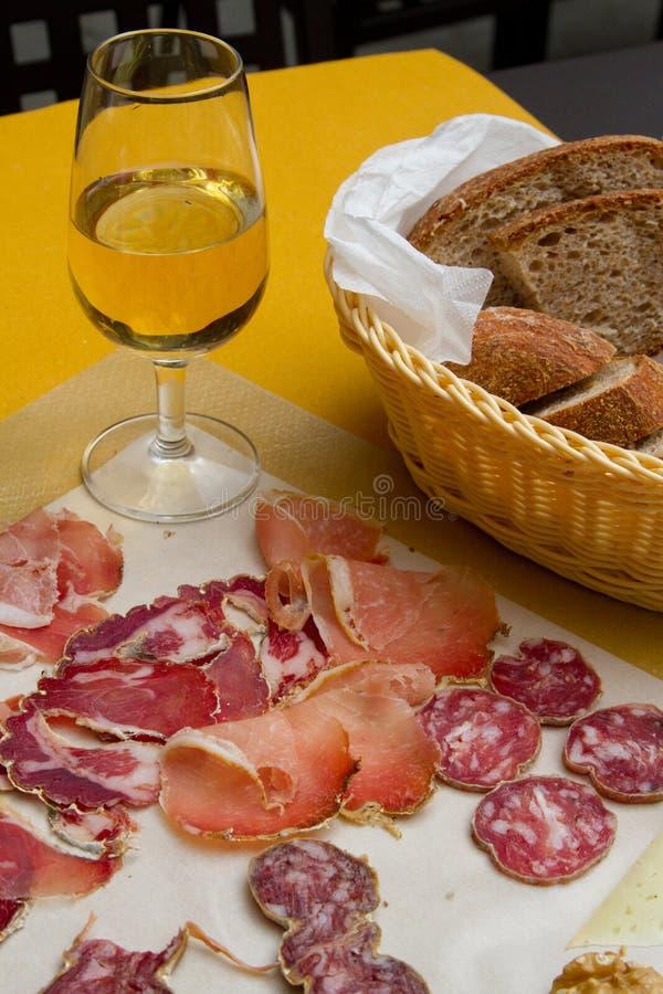 Wine Trockenfleische stockfoto