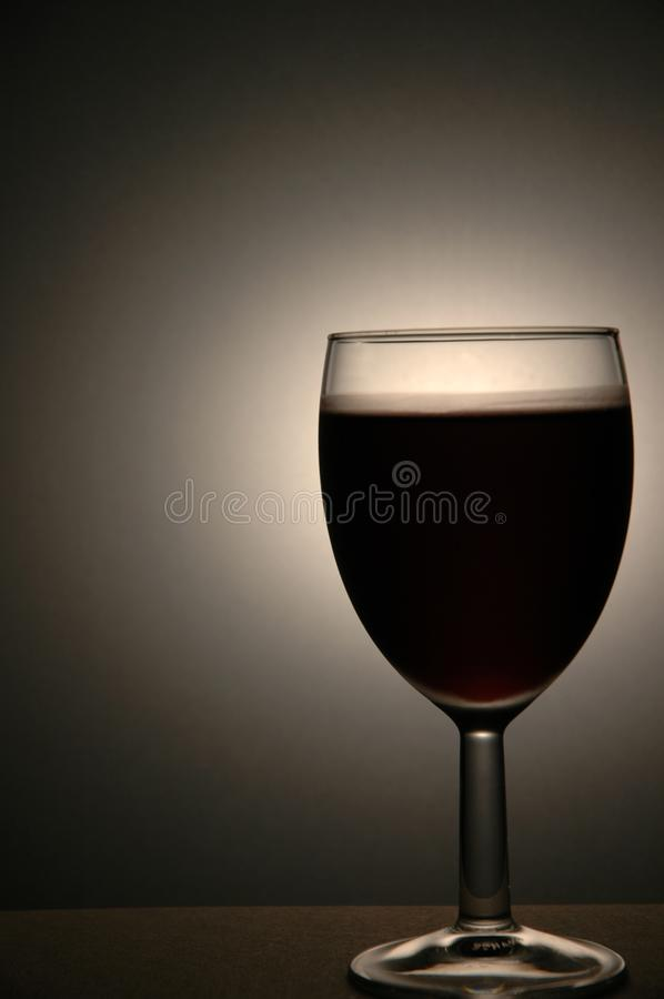 Wineexponeringsglas fotografering för bildbyråer