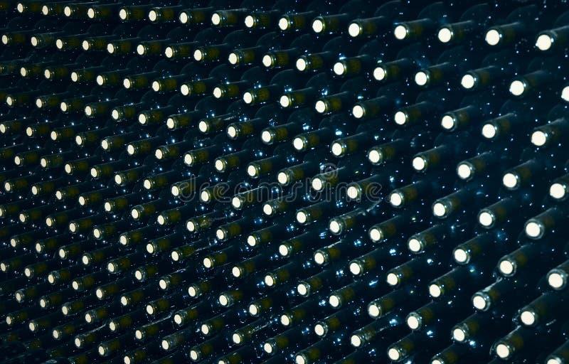 Wineflaskor royaltyfri bild