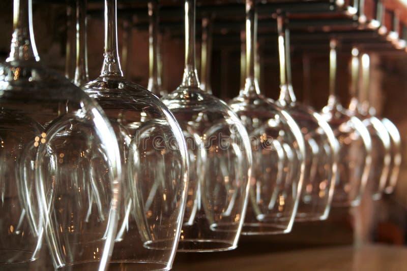 Wineglas fotografie stock libere da diritti