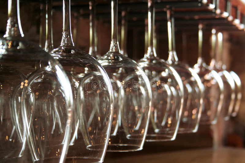 wineglas 免版税库存照片