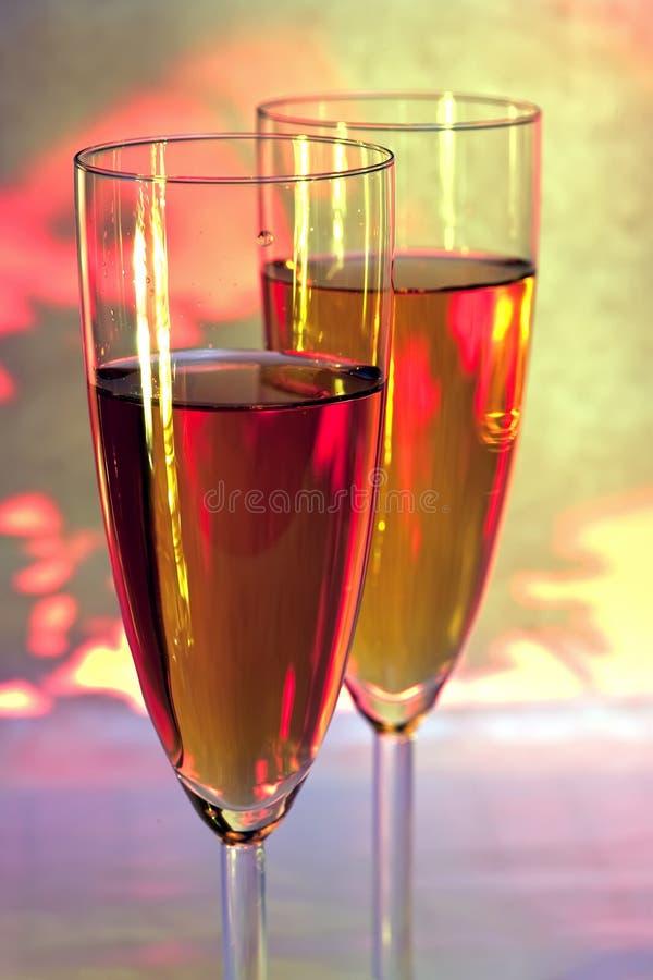 wineglass obrazy royalty free