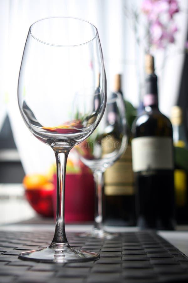 wineglass arkivfoton