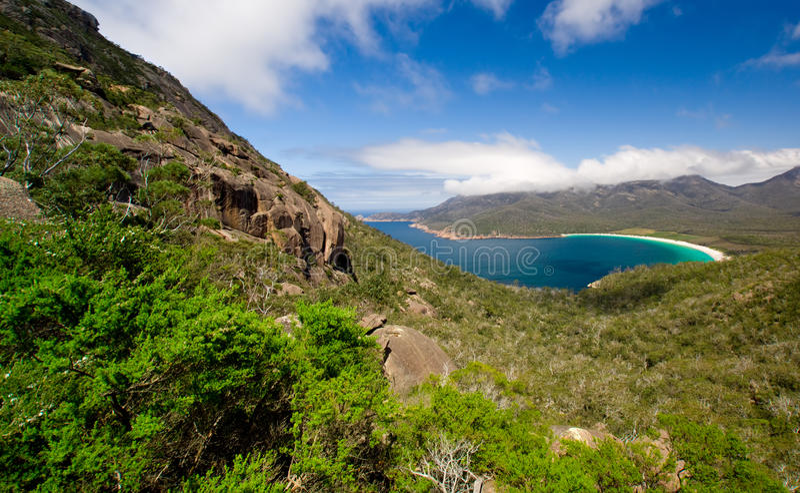 Download Wineglass Bay stock photo. Image of wineglass, beauty - 11991122