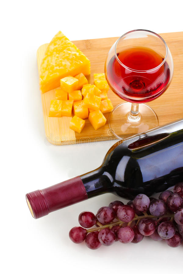 Download Wineglass and cheese stock photo. Image of brown, alcohol - 25827892