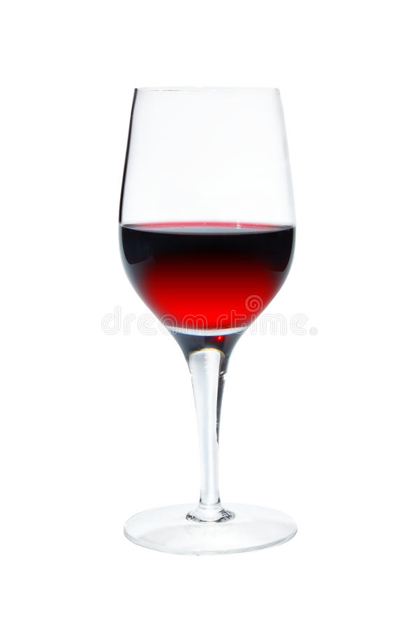 Free Wineglass On White Background Royalty Free Stock Images - 25708309