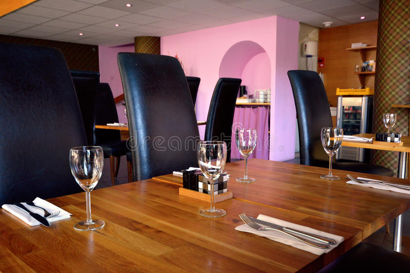 Download Wineglass on table stock photo. Image of dishware, serve - 40863434