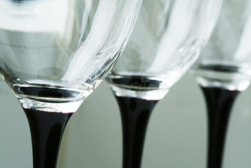 wineglasses royaltyfri fotografi