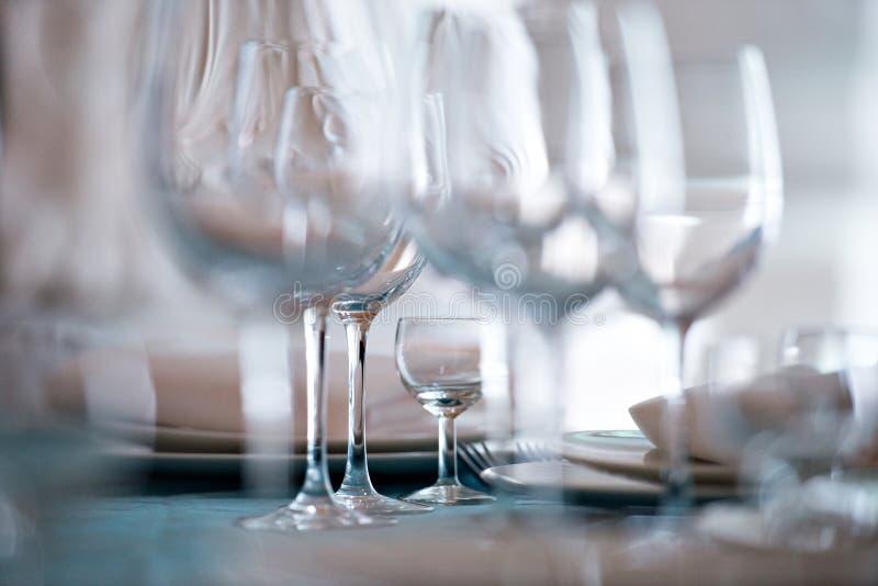 wineglasses zdjęcie stock