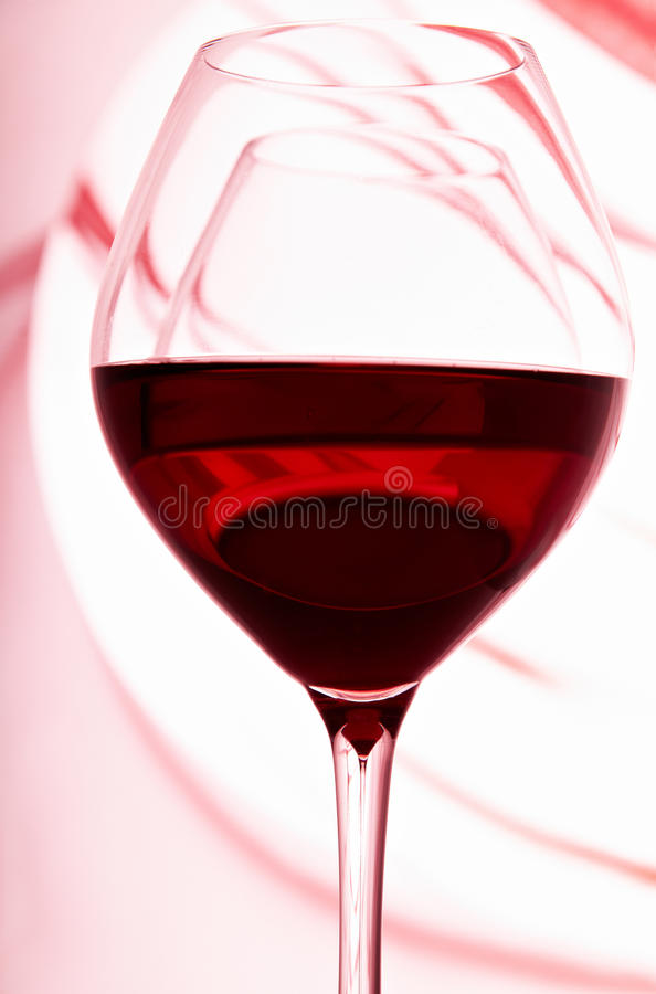 Download Wineglasses two-in-one stock photo. Image of alcohol - 19450938