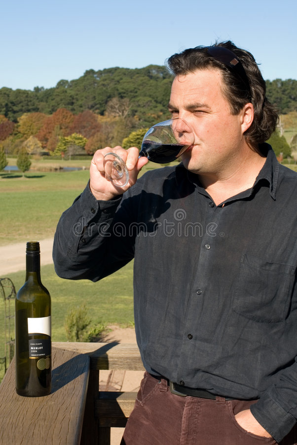The Winemaker royalty free stock images