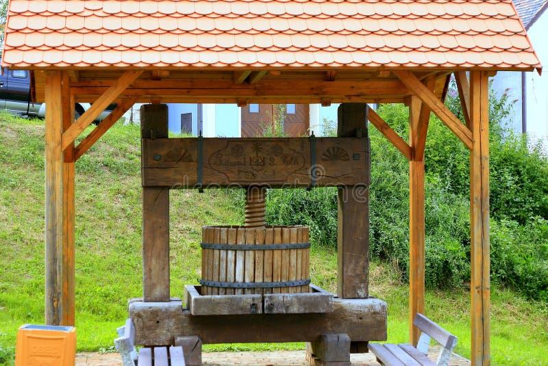 Winepress arkivbilder