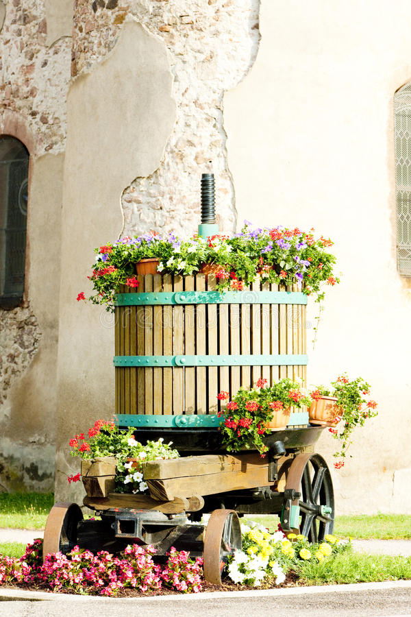 Download Winepress, Alsace stock image. Image of exterior, western - 22765043