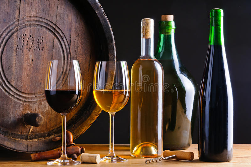Download Winery stock image. Image of goblet, glass, bottles, carboy - 23130049