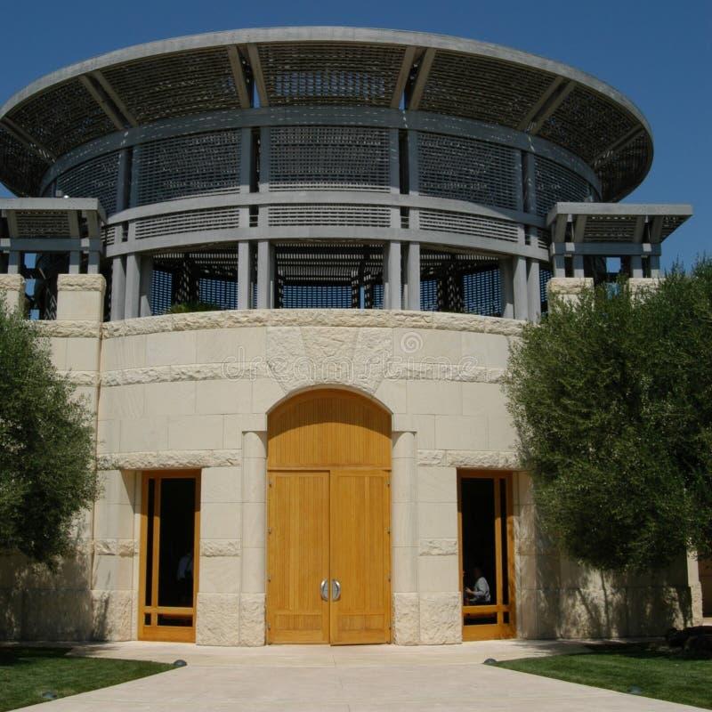Winery entrance stock photos