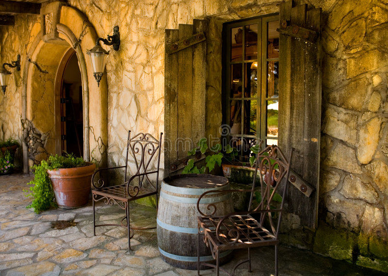 Winery Living royalty free stock images