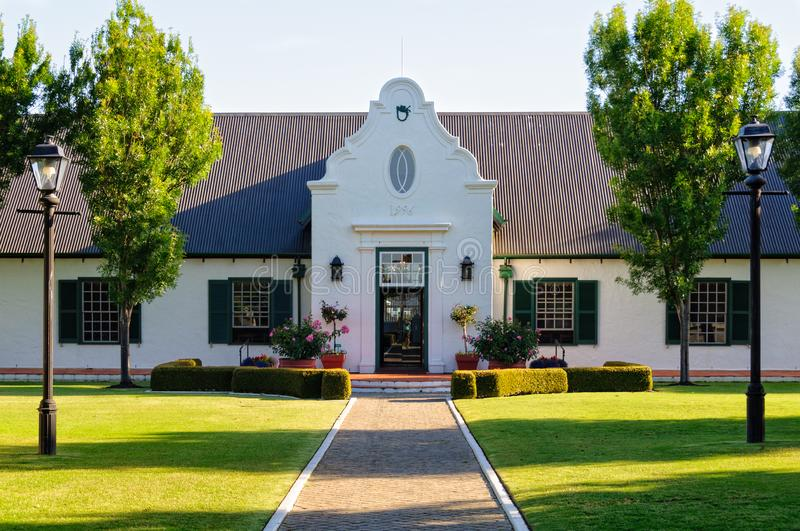 Winery - Margaret River. Leeuwin Estate is one of the five founding wineries of the region - Margaret River, WA, Australia, 10 December 2014 royalty free stock photo