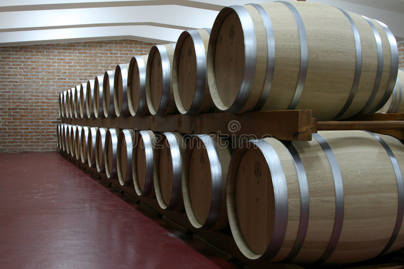 Wines cellar stock images