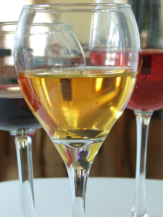 Wines3 库存照片