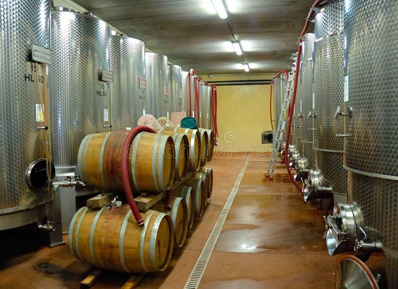 wineyard piwnicy zdjęcie stock