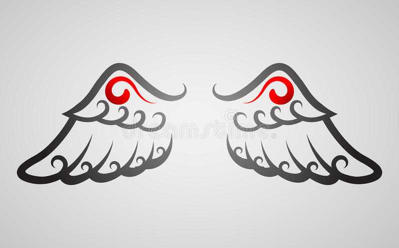 Wing royalty free stock photography