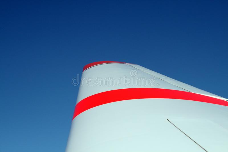 Download Wing stock photo. Image of blue, rudder, plane, flying - 2263172