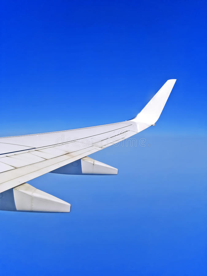 Download Wing stock image. Image of grand, plane, quadrate, horizon - 26352543