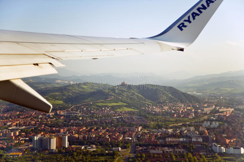 Download Wing air travel editorial stock photo. Image of grid - 19414133