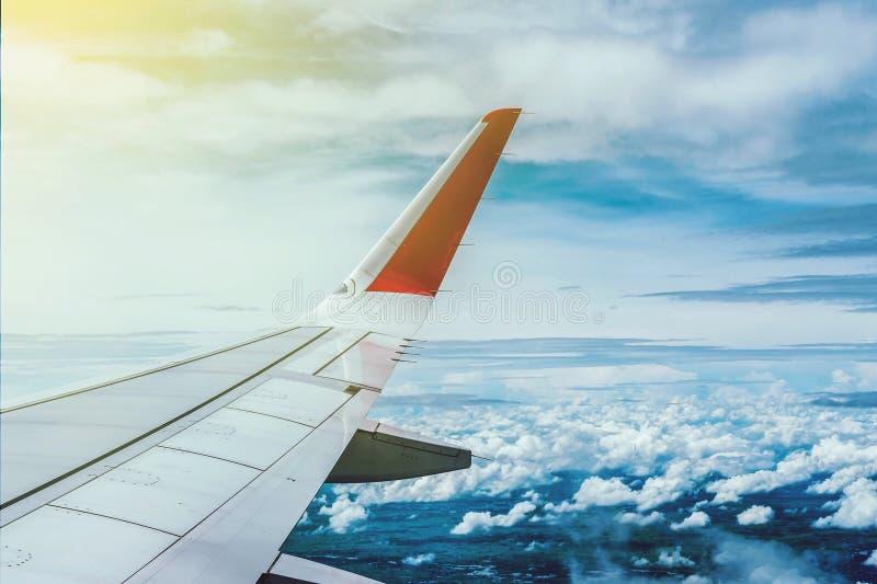 Wing Airplane arkivfoton