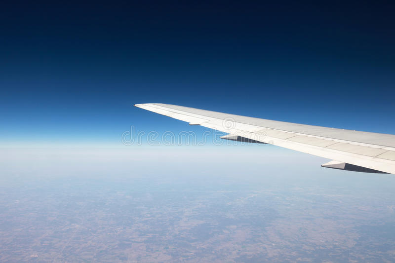 Download Flying over the clouds stock photo. Image of plane, horizon - 30229830