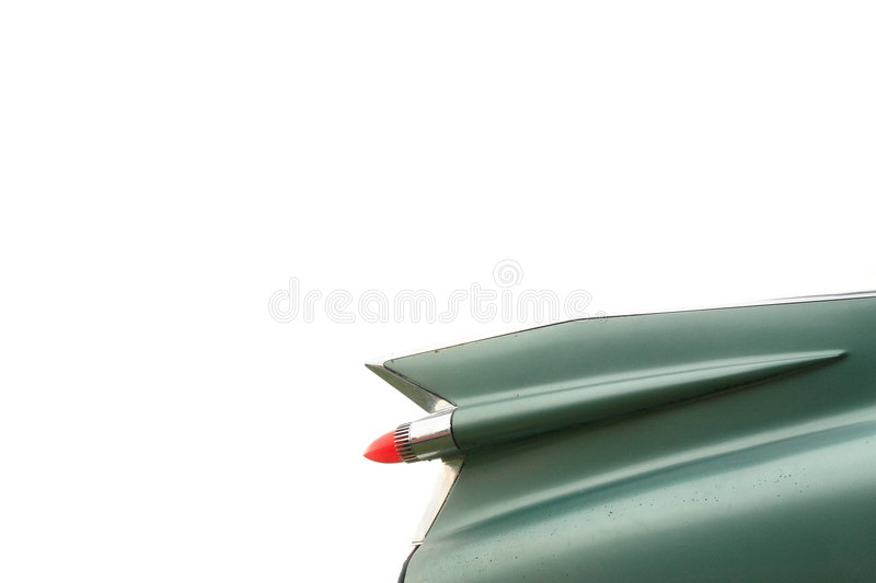 Wing Of Classic Cadillac Car Stock Photography