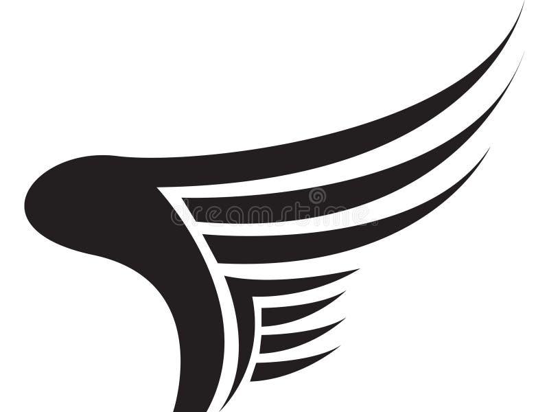 Download Wing Logo stock illustration. Illustration of graphic - 13603486