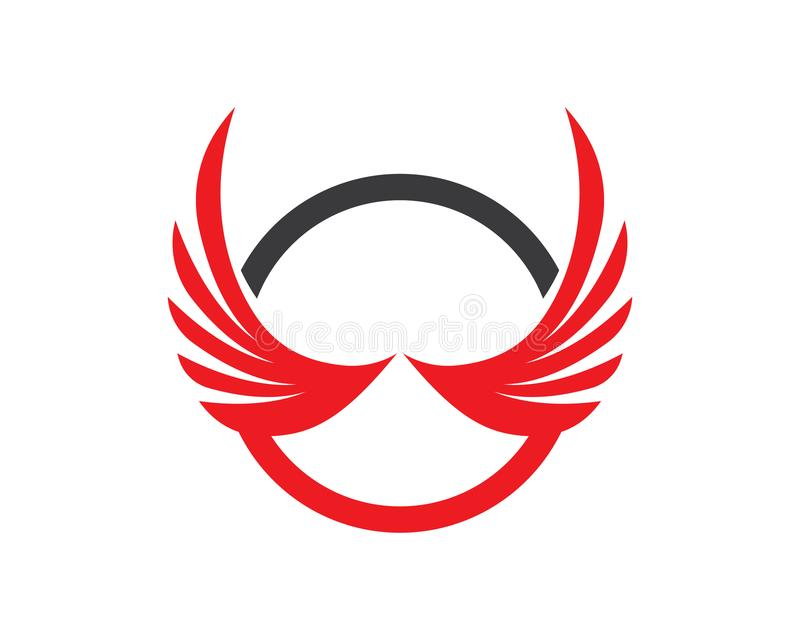 Wing Logo Symbol For A Professional Designer Stock Vector