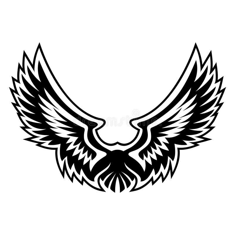Wing Logo Vector Graphic illustrazione di stock