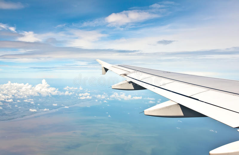 Download Wing in the sky stock image. Image of beautiful, high - 14852979