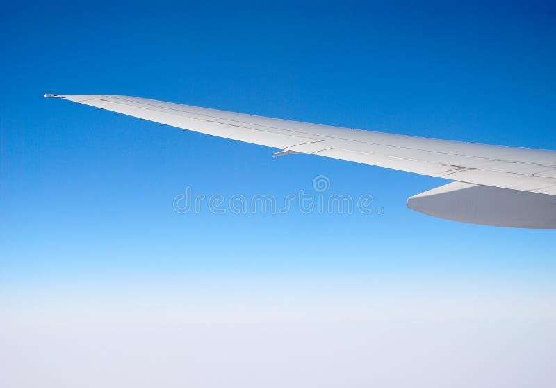 Wing transport aircraft royalty free stock photos