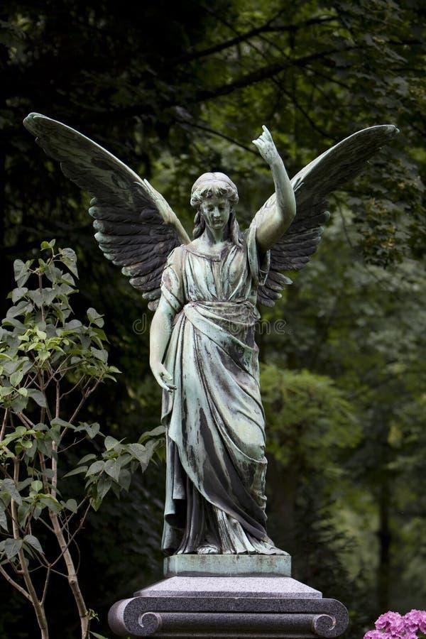 Winged Engel lizenzfreies stockfoto