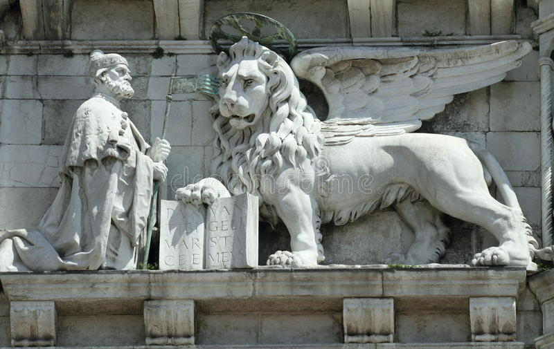 Winged lion - landmark of Venice