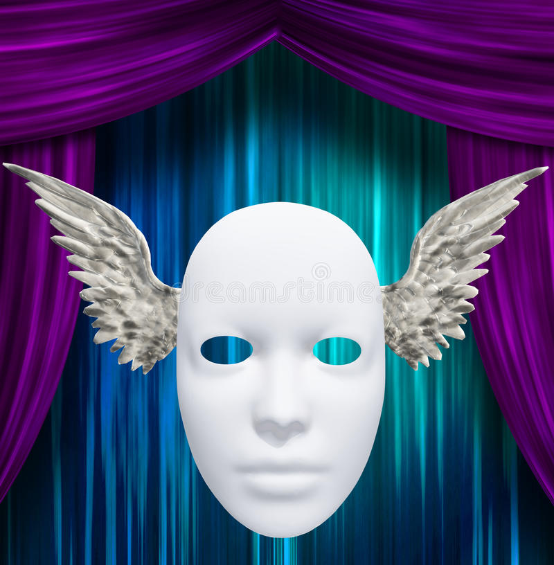 Download Winged Mask Royalty Free Stock Images - Image: 29410709