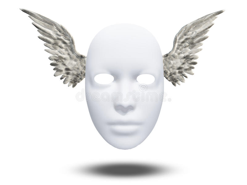 Winged Mask Stock Photography