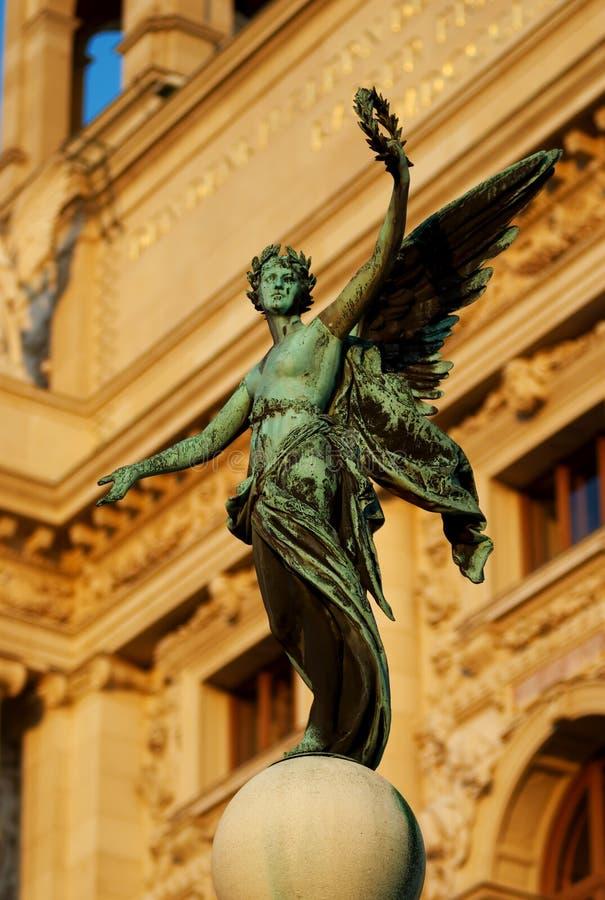 Download Winged Victory stock image. Image of winged, bronze, mythology - 8463747