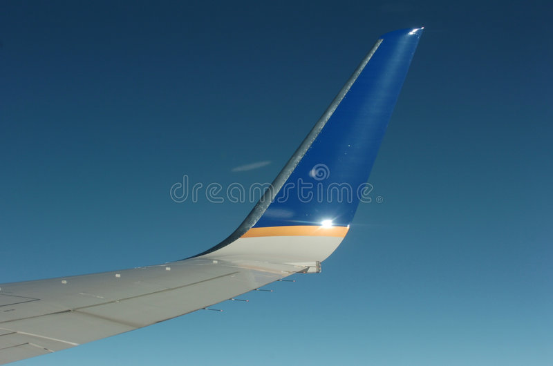 Winglet foto de stock royalty free