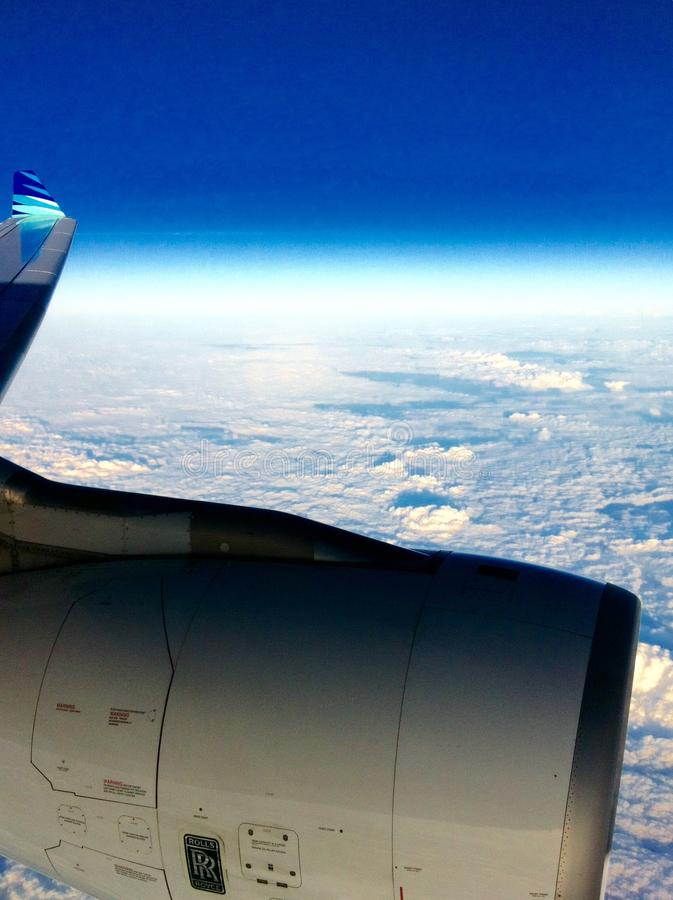 Winglets. Frequent flier GA stock photography