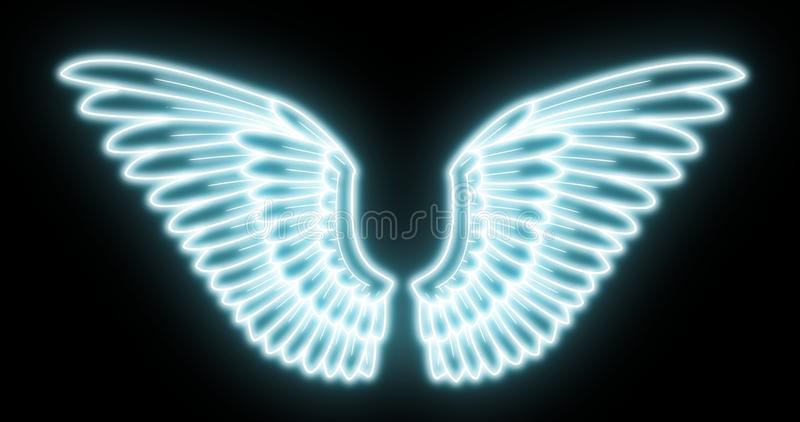 Download Wings stock illustration. Image of mystic, eagle, vector - 14855299