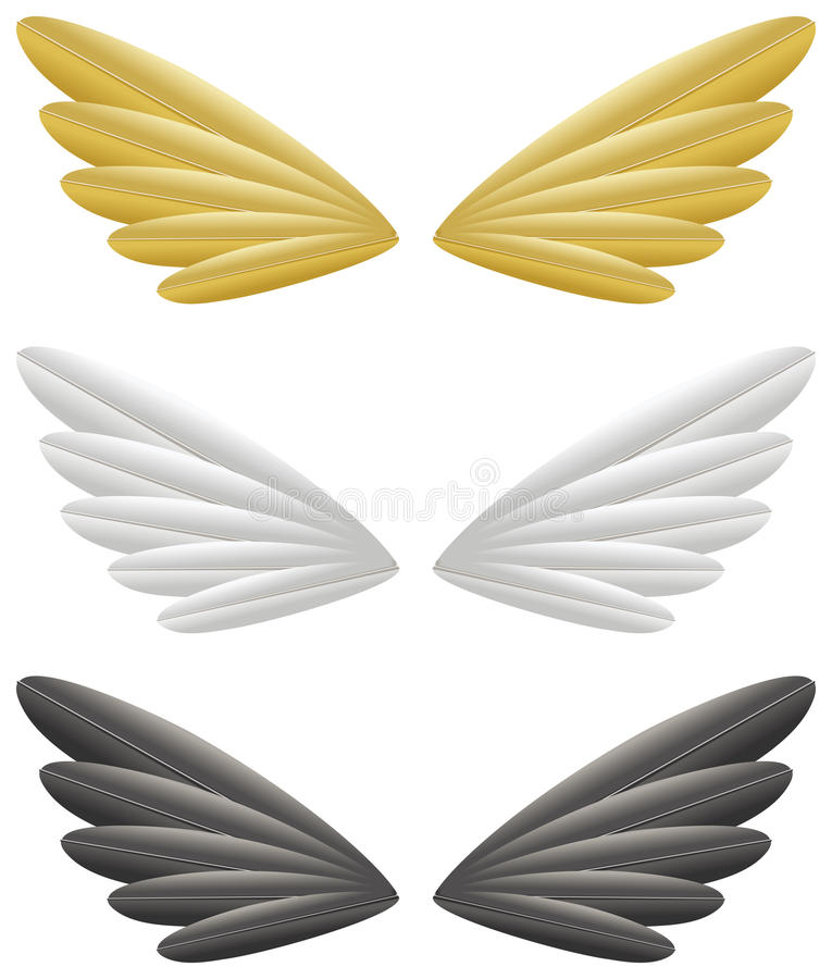 Download Wings stock vector. Image of digital, isolated, background - 25357162