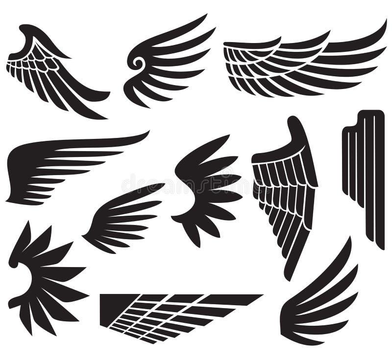 Wings stock illustration