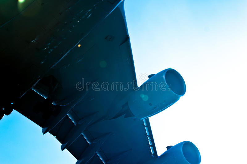 Wings Of An Airbus Royalty Free Stock Photography