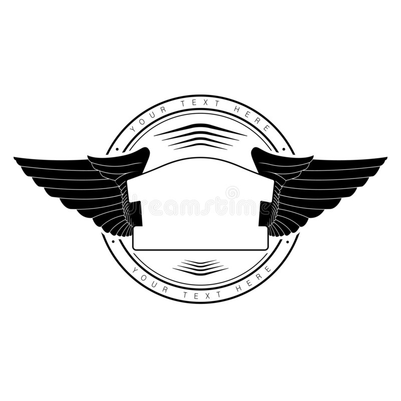 Wings Of Eagle Stock Image
